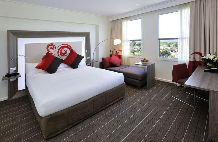 Accor Hotel Project using custom digital image on bedhead and drapery #materialisedfabrics #fabricsfortherealworld #performancefabrics #hoteldesign