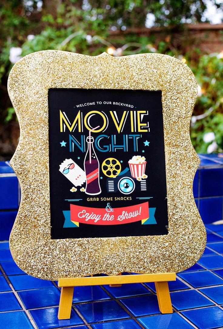 184 best outdoor movie night images on pinterest movie night