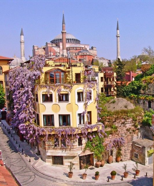 Istanbul. Hotel Empress Zoe.