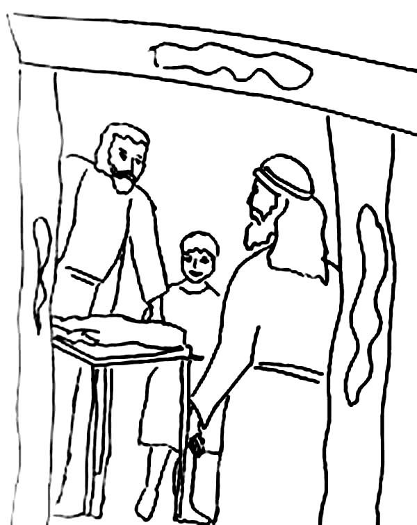 Passover The Story Of Where Derived Coloring Page
