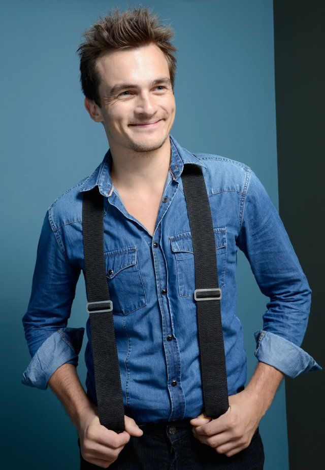 """Rupert Friend photographed by Henny Garfunkel in a photo shoot for his movie """"Starred Up"""" at the Toronto International Film Festival 2013.....goregous."""