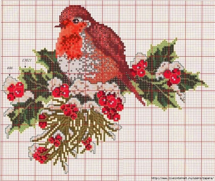 17 Best images about Christmas Cross Stitch, Embroidery, Knitting & Sewin...