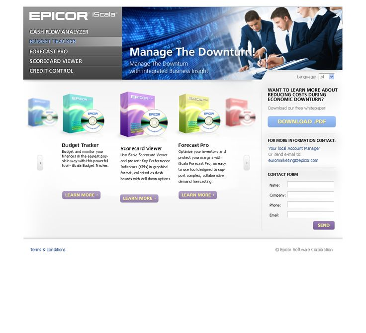 Web Design for Epicor