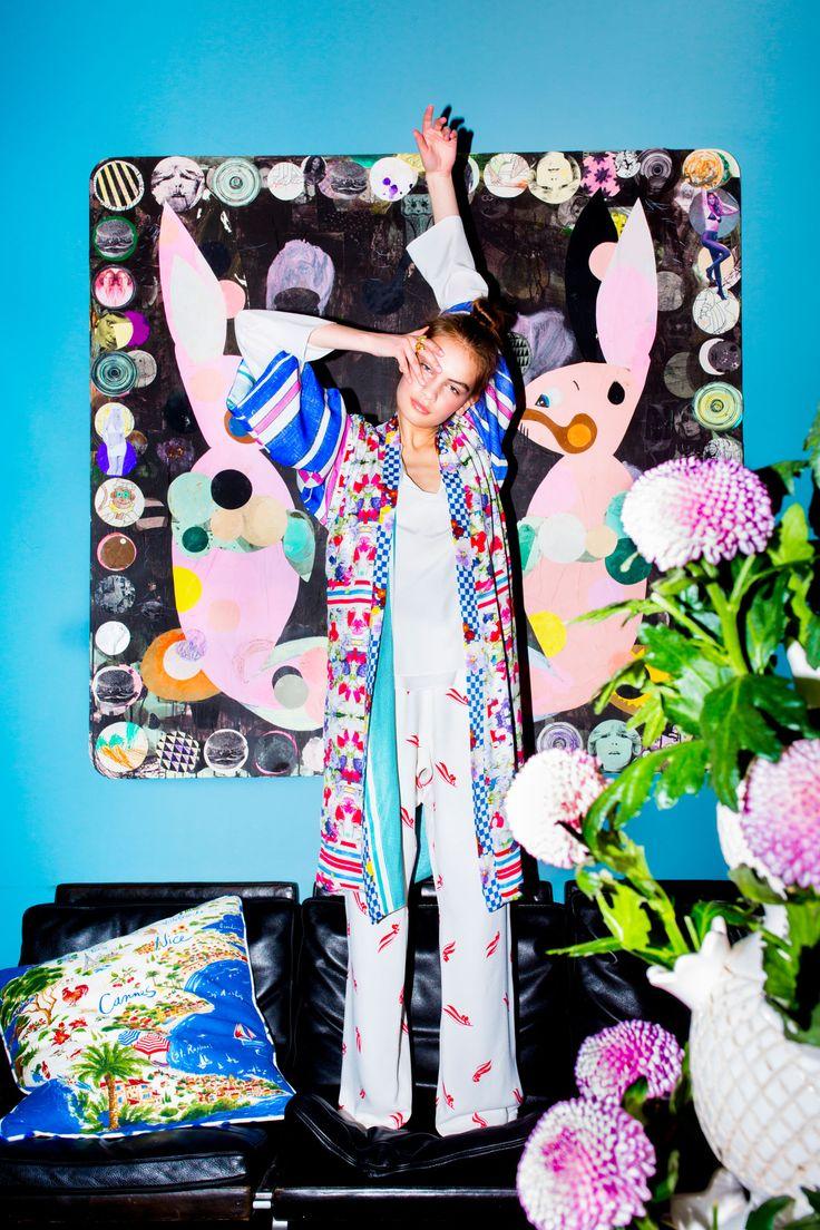 Holly Golightly Copenhagen - SS16 Campaign / Photo: Trine Hisdal / Styling: Julie Svendal / Instructors: Tone Reumert & Julie Svendal / Make-up: Pernille Holm / Model: Nina Marker - Elite Models / MARNI / T.A.C / CHLOÈ