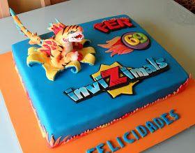 Invizimals cake