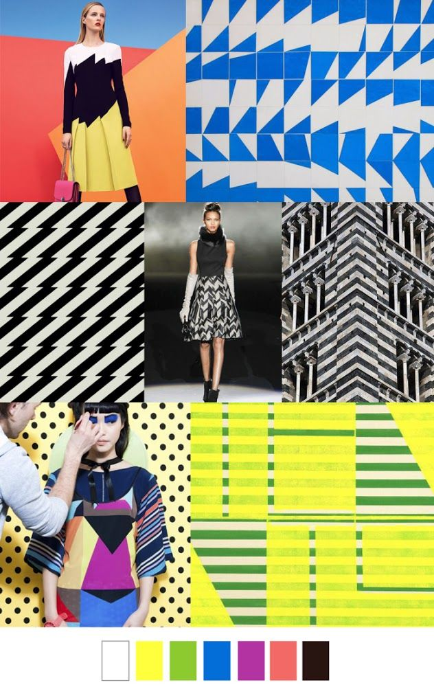 COLOUR MOVES - FASHION VIGNETTE: TRENDS // PATTERN CURATOR - PATTERN + COLOR . SS 2016
