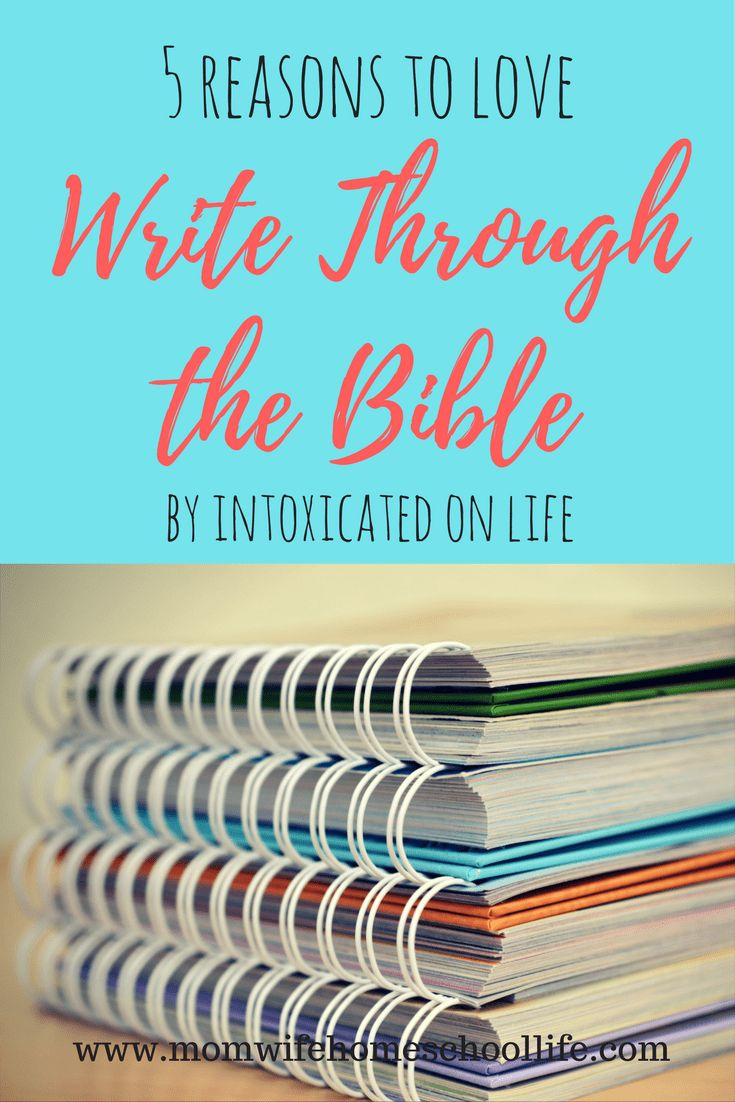 curriculum review of Write through the Bible by Intoxicated on Life. What is write through the  BIble? Handwriting and Bible curriculum in one for homeschoolers. Homeschooling.