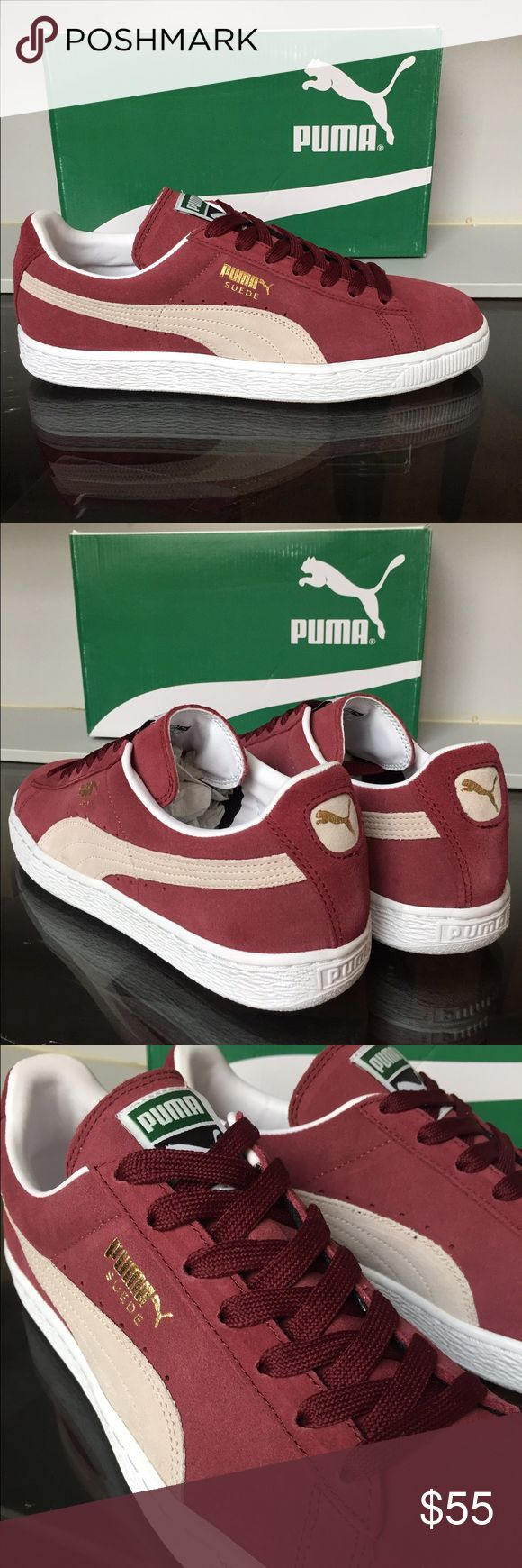 Puma Suede Men's Brand new and with the original box. Puma Shoes Sneakers