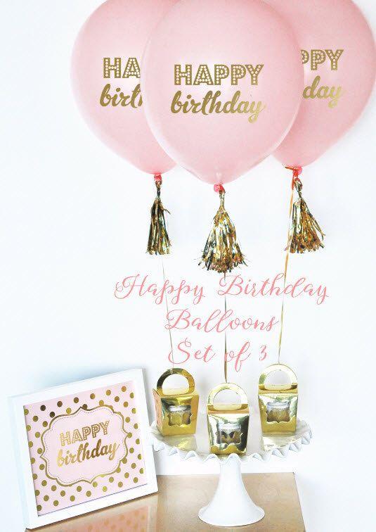 1000 Ideas About Happy Birthday Balloons On Pinterest