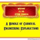 Get Ready for a Carnival of STEM!  This STEM bundle is perfect for a theme filled week of fun engineering projects!