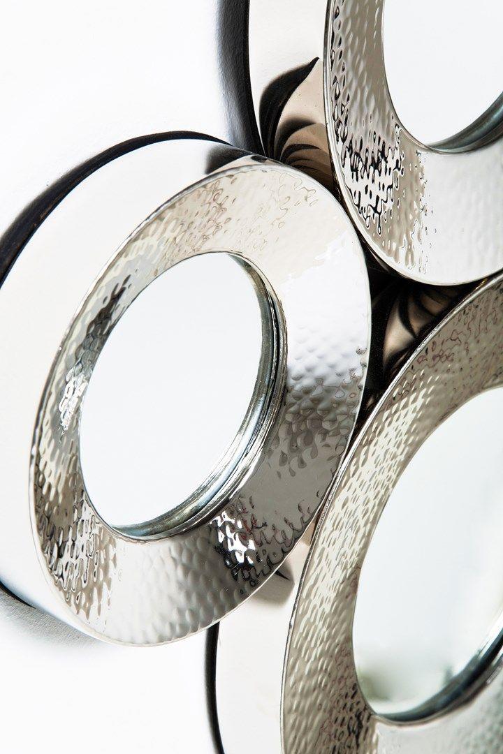 Zrcadlo Circoli Cinque Silver - 2
