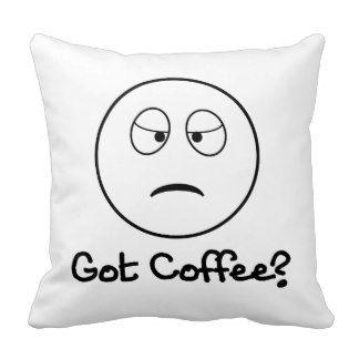 Gekregen Koffie? - Het grappige Kussen van het