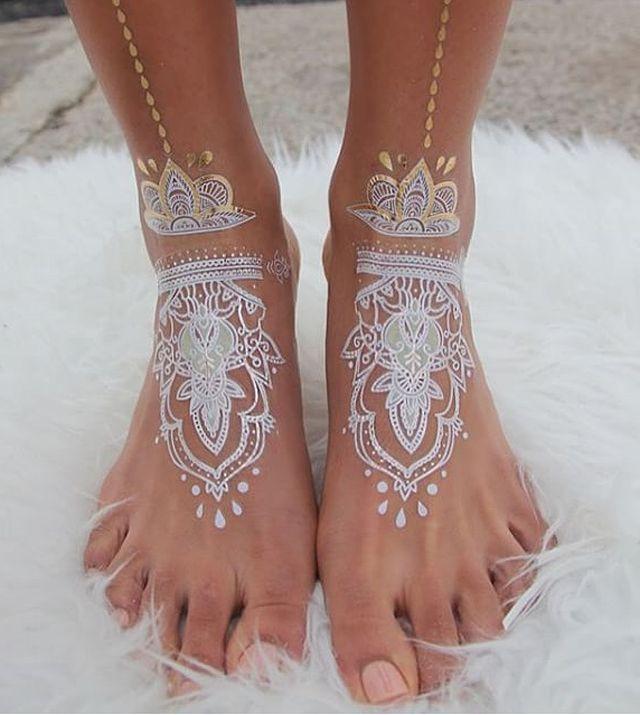 Best 20+ White Henna Ideas On Pinterest