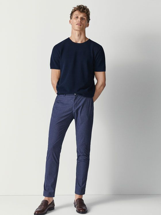 Joggingbroek Slim Fit.Men S Pants Massimo Dutti Spring Summer Collection 2018 Young