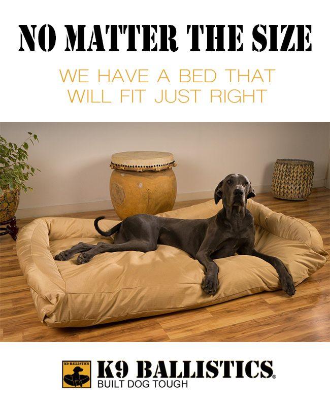 Extra Large Great Dane Dog Beds by K9 Ballistics