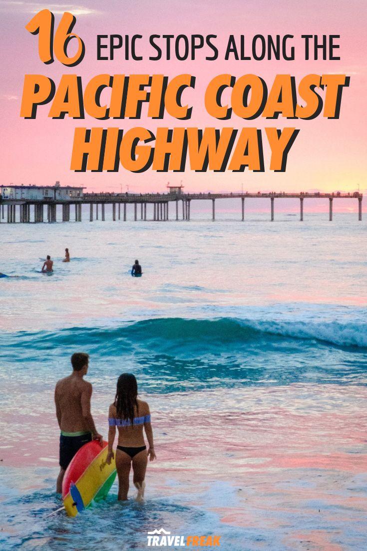 16 paradas épicas para sua viagem pela estrada da costa do Pacífico da Califórnia   – Top North America Travel