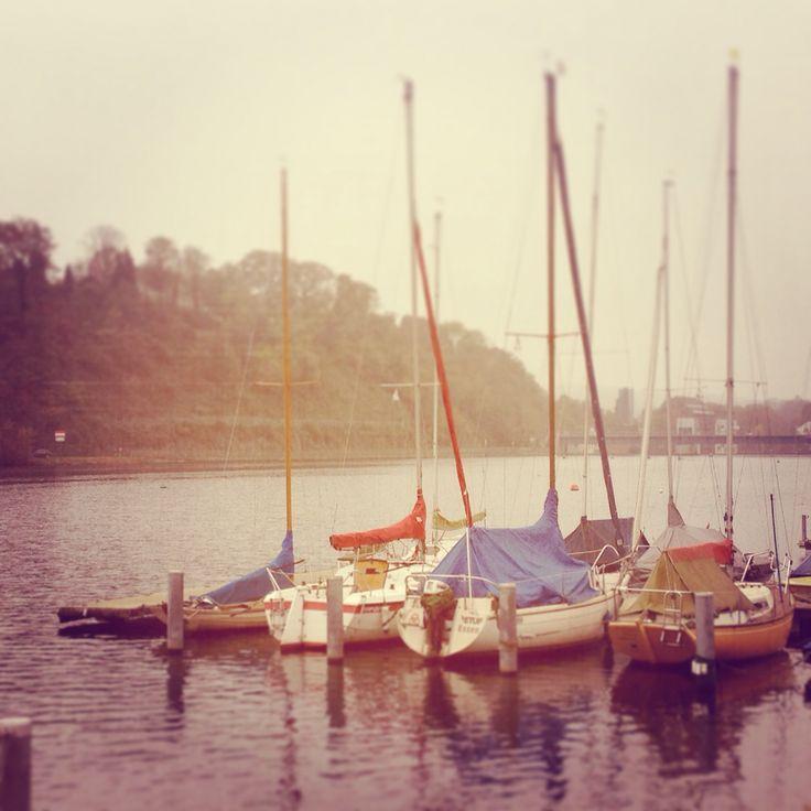 Segelboote Baldeneysee Essen Ruhrgebiet NRW Germany | I ❤️ sailing