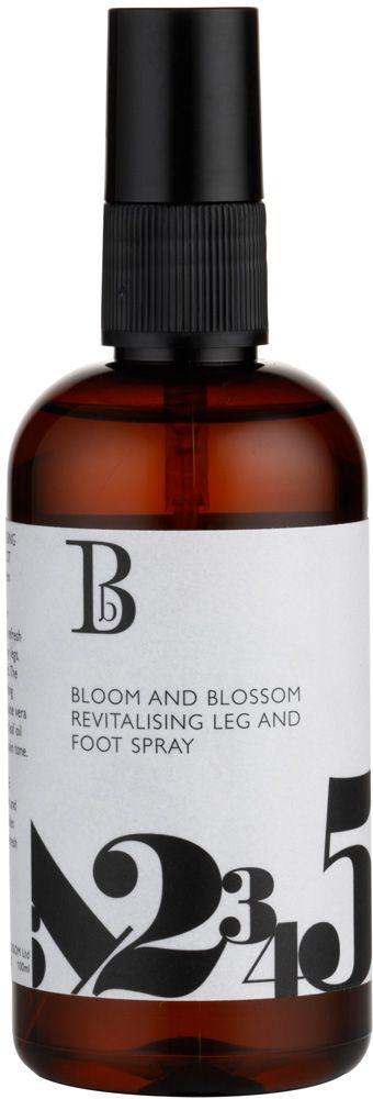 Bloom & Blossom Revitalising Foot and Leg Spray  Körperspray