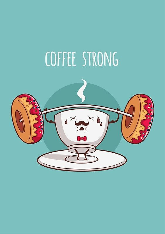 We're coffee strong! #coffeehumor #coffeelovers