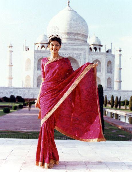 Miss Universo 1994.  Sushmita Sen, Miss India. MISS UNIVERSE ORGANIZATION/CORTESÍA. #susmitasen http://www.manchimovies.com