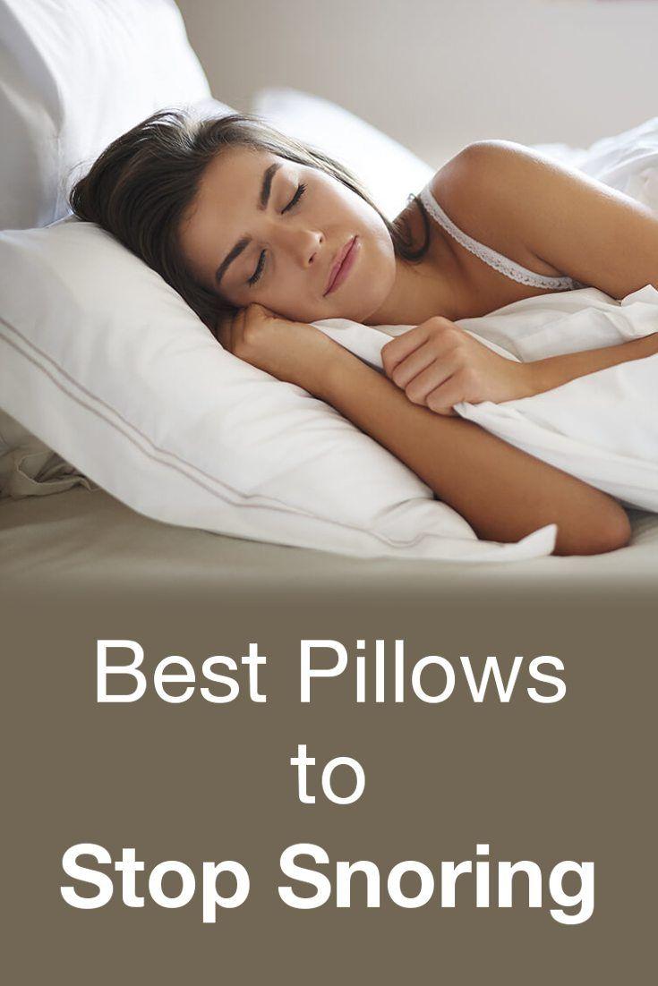 4 Corrective Pillows To Help You Stop Snoring Snoring