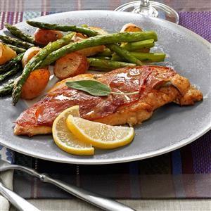 Sage & Prosciutto Chicken Saltimbocca Recipe