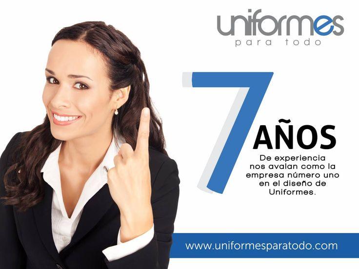 ¡Calidad, desempeño y experiencia en el sector! #UniformesparaTodo #Colombia #Empresas www.uniformesparatodo.com