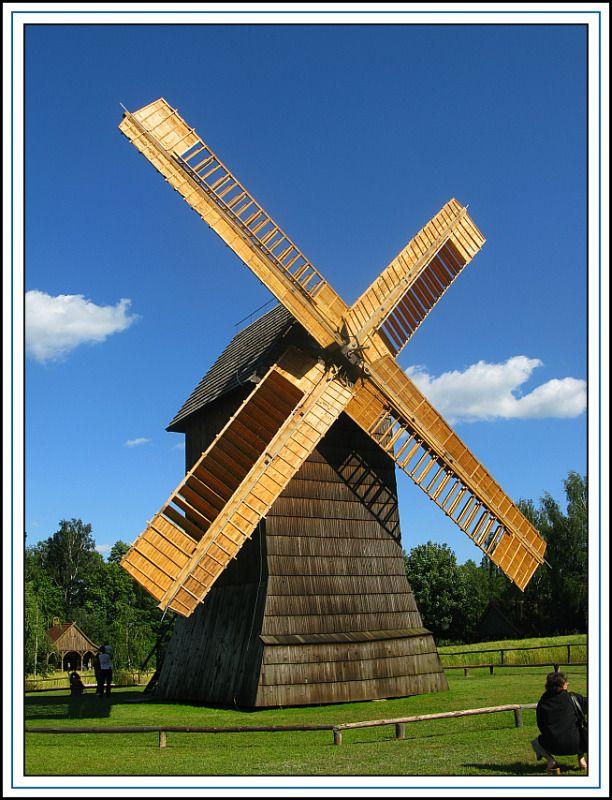 Old windmill - Wolsztyn, Wielkopolskie