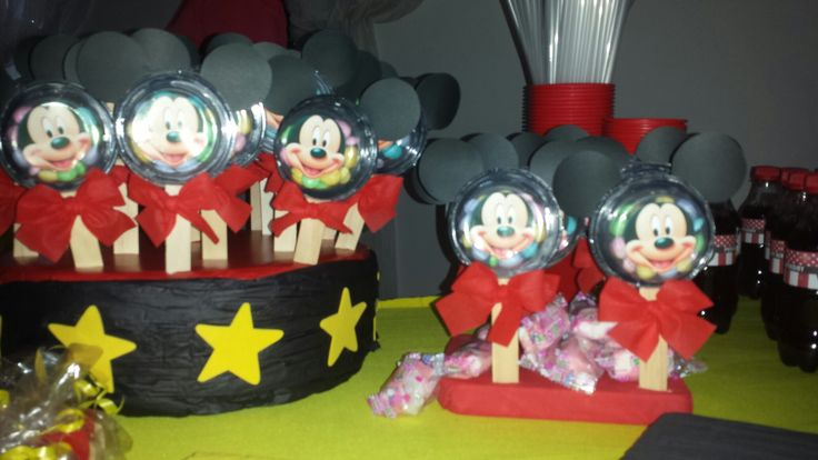 Mickey candie arrangements by Me