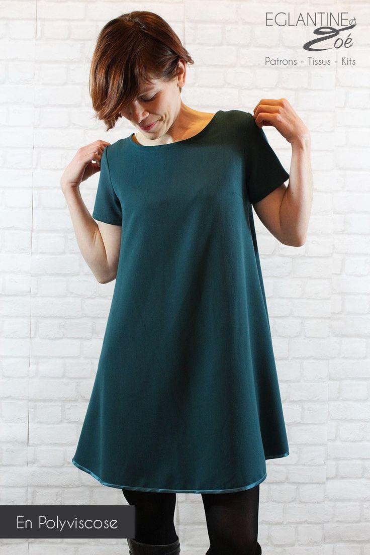 Inspirée d'une virée au galop, Galipette a été créée pour être un modèle facile à vivre et à porter. Sous forme de robe ou de blouse, elle vous permettra de nombreuses versions : décolleté profond dans le dos avec ou sans liens, décolleté classique dans le dos, manches courtes, manches longues et dos plus long sur les fesses pour la blouse. Il n'y a plus qu'à choisir la Galipette qui vous conviendra le mieux ! Tailles : 2 pochettes proposées : - du 34 au 46 (Guide des tailles)...