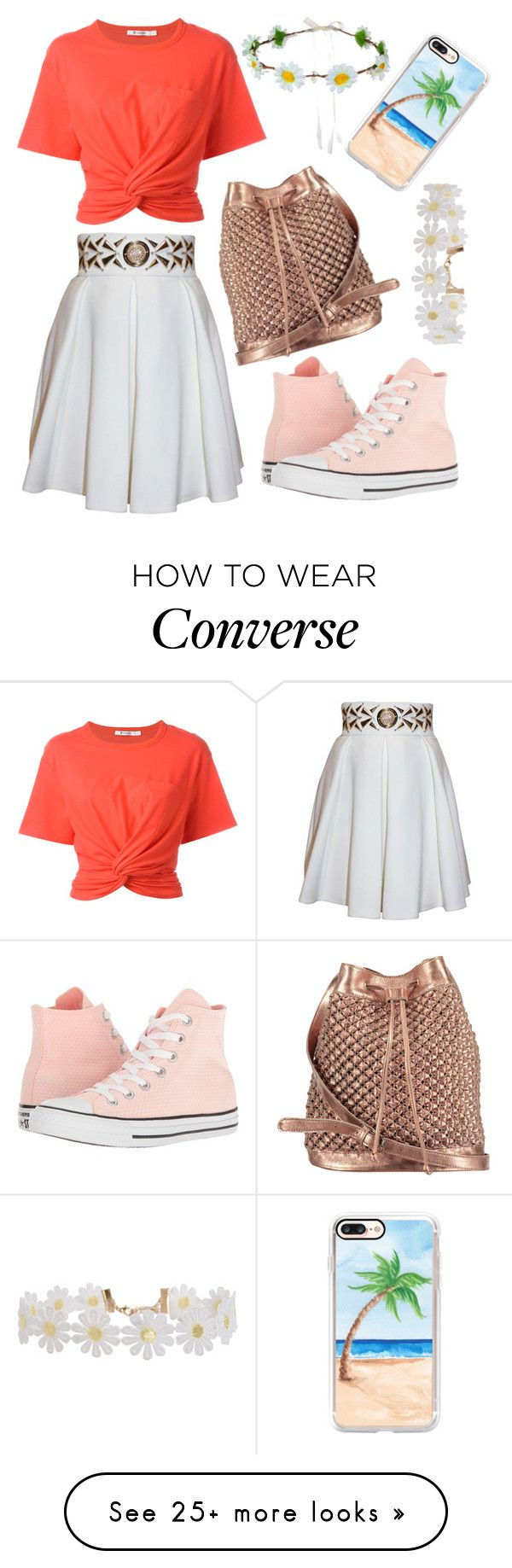 """Easy as can be"" by northern-queen on Polyvore featuring T By Alexander Wang, Balizza, Converse, nooki design, Humble Chic and Casetify"