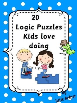 critical thinking logic puzzles With our yearly testing behind us, we are going to spend some time on another side of math — analogies, logical reasoning, and math puzzles these help kids develop logical thinking, analytical abilities, and mathematical reasoning i thought i'd share some of the resources we use in our.