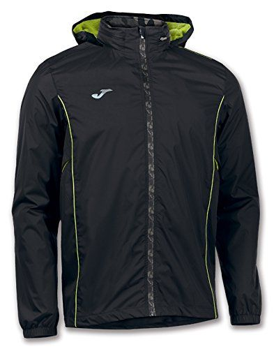 Joma Ropa de Deporte Chubasquero Jacket Running Olimpia Man Child Size M Color Negro-Gris