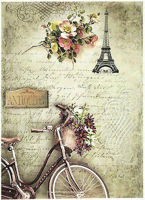 Ricepaper/Decoupage paper,Scrapbooking Sheets /Craft Paper Parisian Still Life 2 in Crafts, Cardmaking & Scrapbooking, Decoupage | eBay