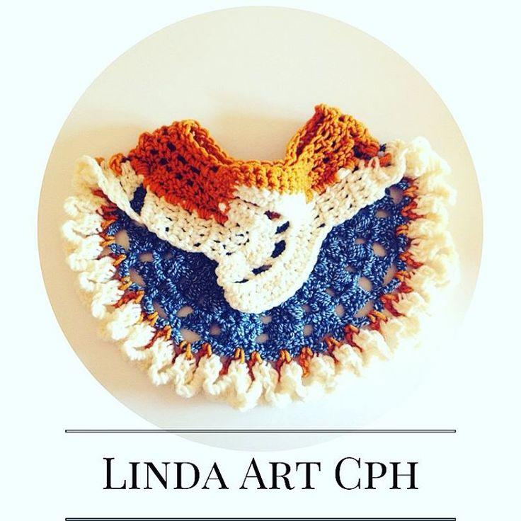 Half #moon #crochet #collar