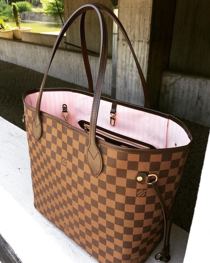 Classic Louis Vuitton Damier Neverful Handbags For Fashion Women. Best LV  Bag for Summer 2017. #louis #vuitton #handbags