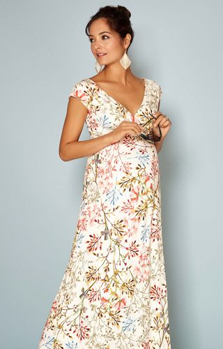 079db1ed20fa7 Alana Maternity Maxi Dress Watercolour Meadow - Maternity Wedding Dresses,  Evening Wear and Party Clothes