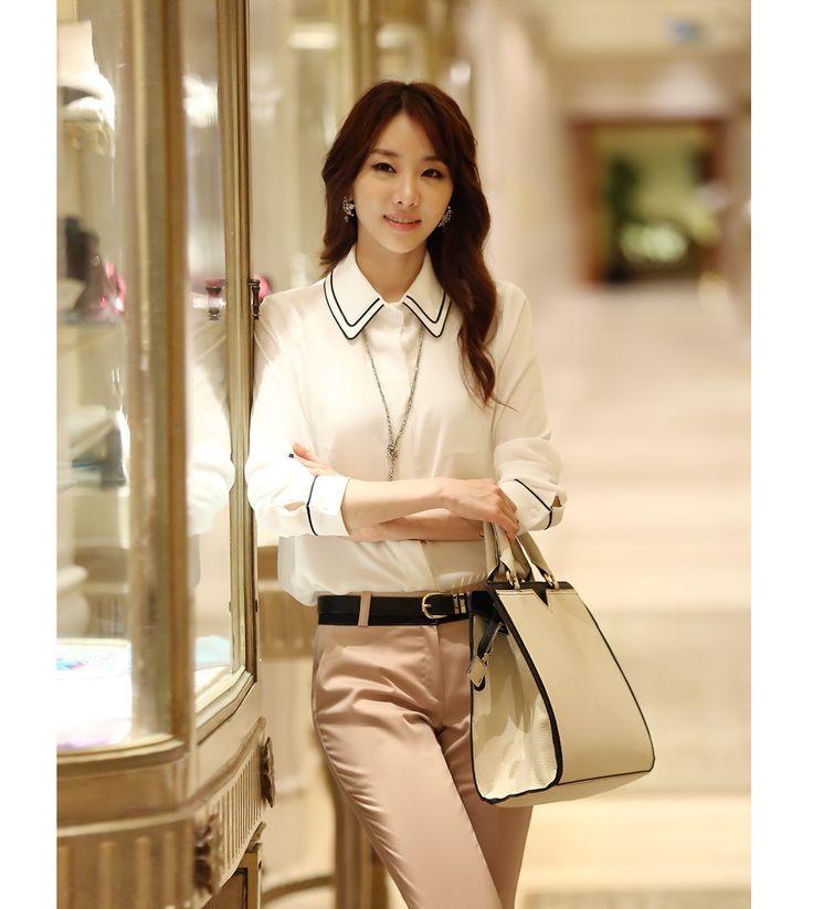 Společenská bílá košile s černým lemováním S - XXL (4733218991) - Aukro - největší obchodní portál