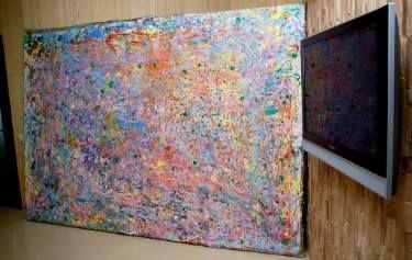 """Lavander tralf mist"" dedicated to Jackson Pollock"