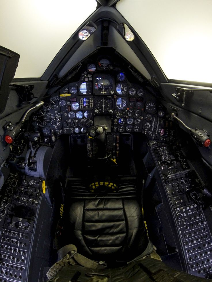 This SR-71 Blackbird cockpit got more flight time than all of the other Blackbird aircraft put together, and every single SR pilot, at one point or another, had their hands on these stick and throttles. This is the one and only SR-71 simulator, used...