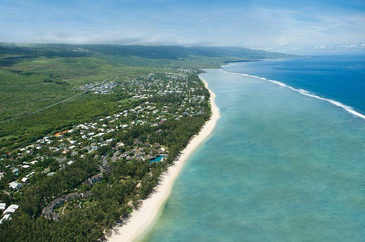 Saint Gilles Les Bains. Située sur la côte Ouest de l'île de la Réunion
