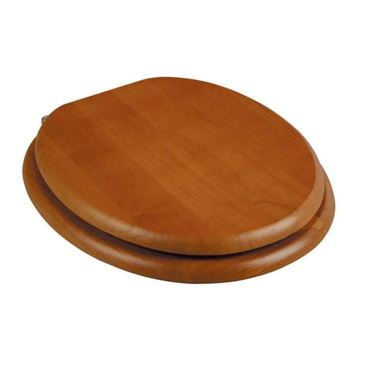 d shaped wooden toilet seat. Round Toilet Seat Hardwood Golden Oak Brass Hinge 29 Best Seats Images On Pinterest  Seats And