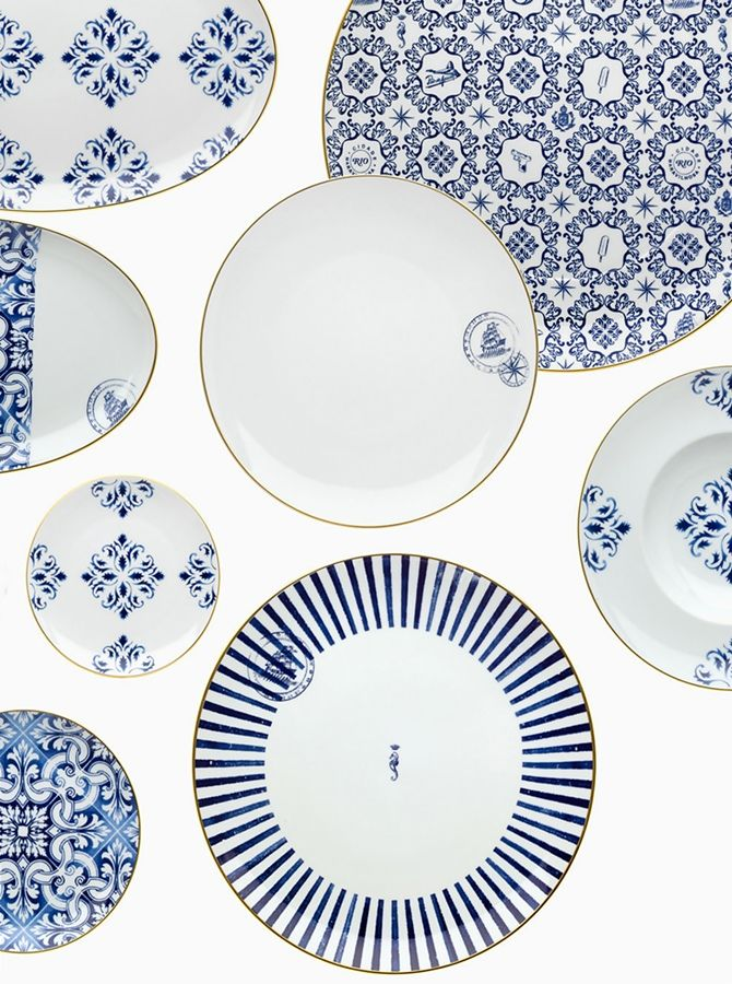 Add some flair to your home with  Blue and White dishwasher, always right!