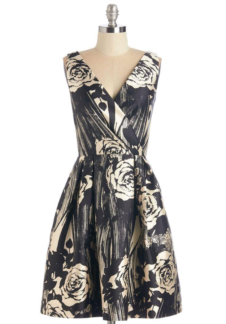 Dinner Date Darling Dress   Mod Retro Vintage Dresses   ModCloth.com