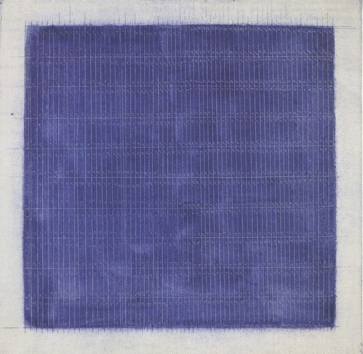 BOMB Magazine — Untitled Painting by Agnes Martin