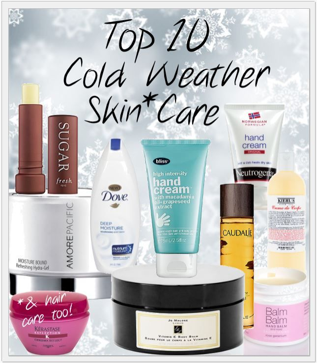 Pink Sith: Top 10 Tuesdays - Top Ten Cold Weather Skin Care