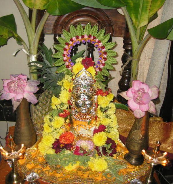 Padma's Recipes: Vara Mahalakshmi Vratham
