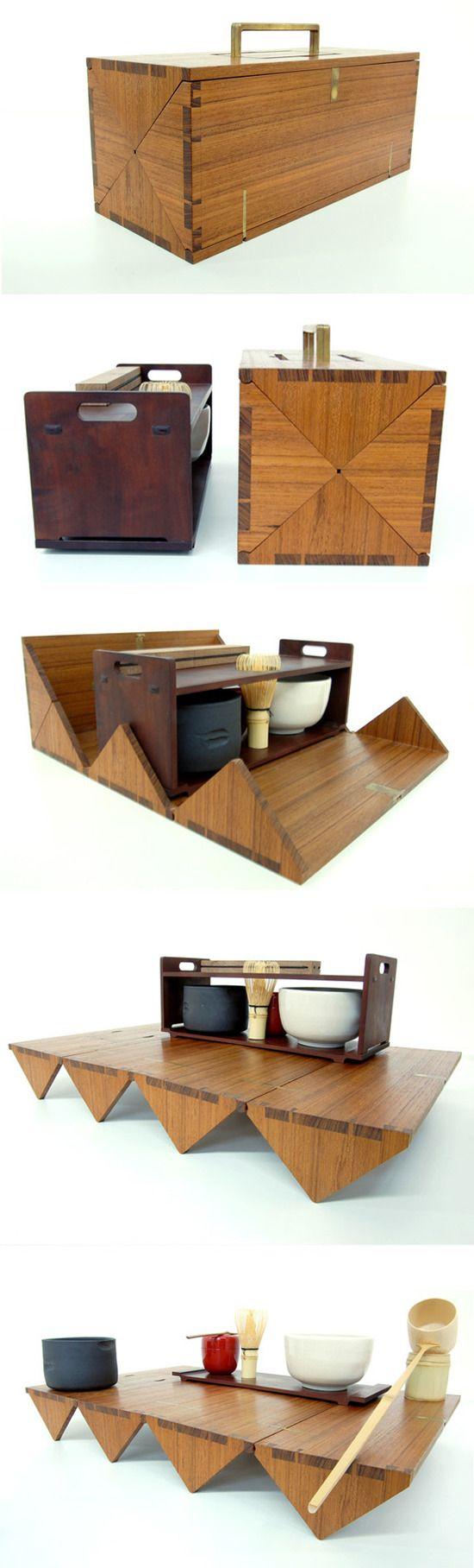 Studio Gorm Japanese ceremonial tea box