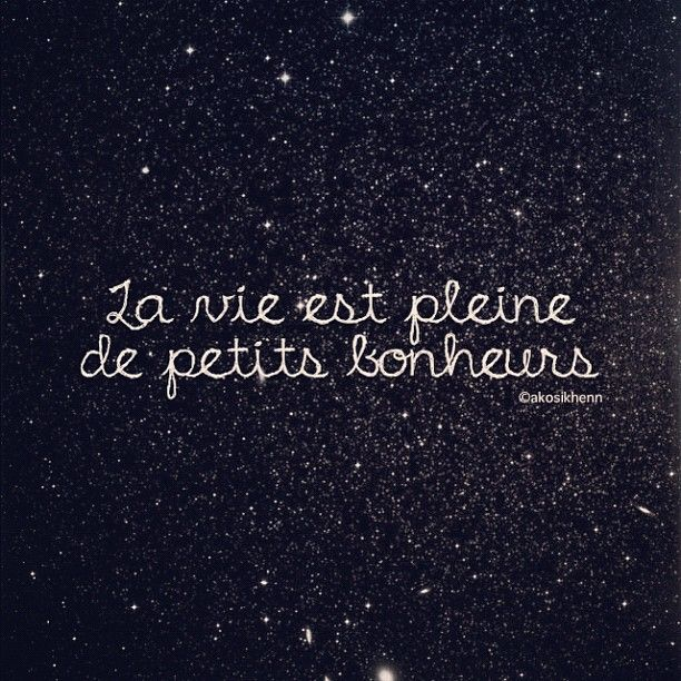 Life is full of little pleasures #french #quotes #typos