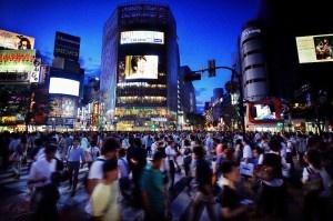 Oh my God, Its Full of Men / Shibuya, Tokyo, Japan